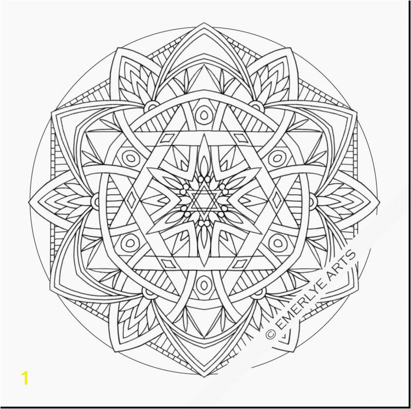 Flower Mandala Coloring Pages Printable Fresh Free Mandala Coloring Pages Flower Coloring Pages