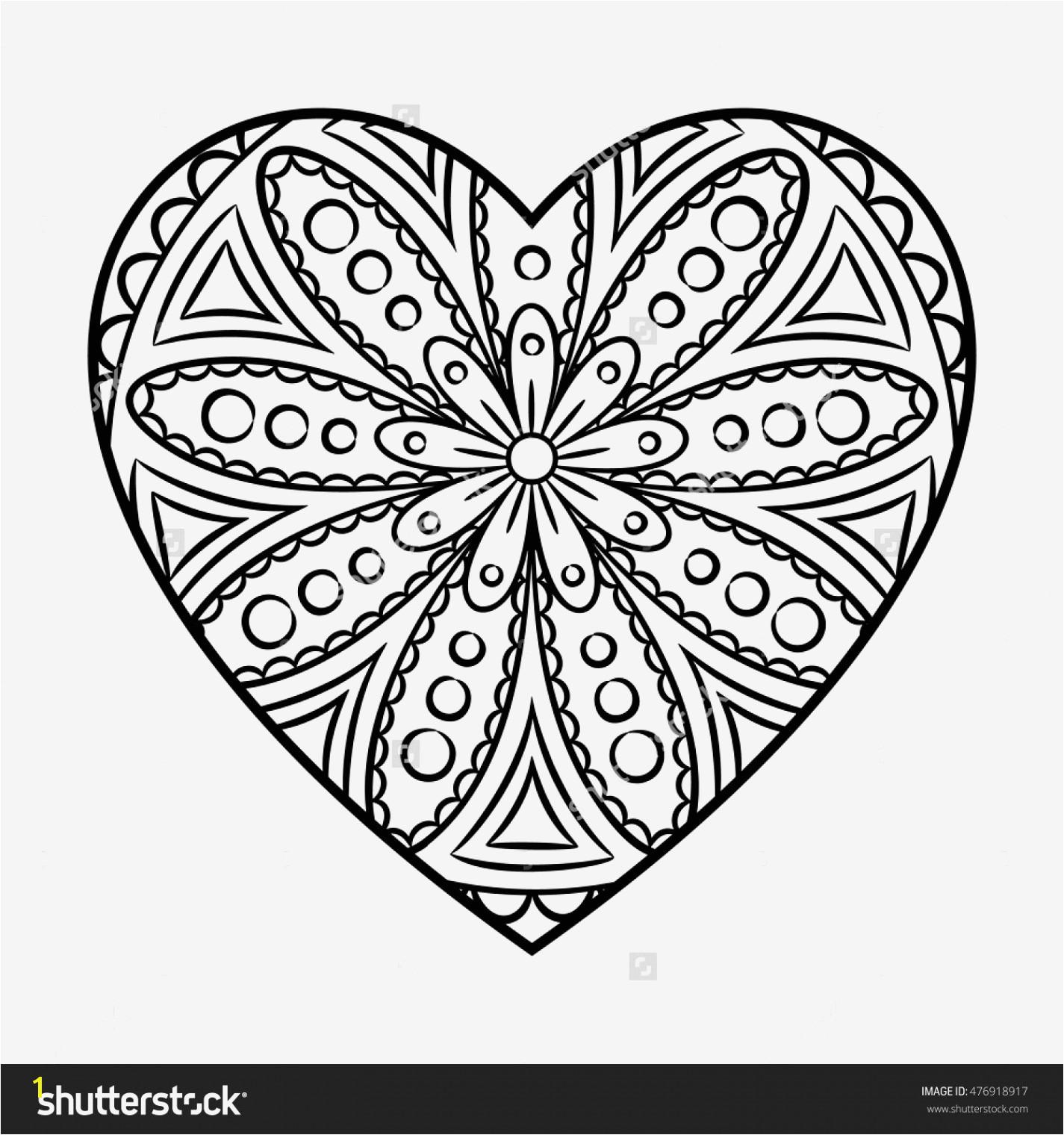 Printable Heart Mandala Coloring Pages Heart Mandala Coloring Pages Flower Outline Coloring Page Coloring Pages with Flowers and Hearts