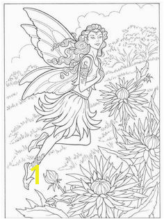 Fairy coloring page Dover Coloring Pages Fairy Coloring Pages Coloring Pages For Grown Ups