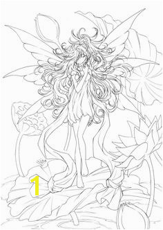 Fairy coloring pages for adults to and print for free Coloring Books Fairy Coloring