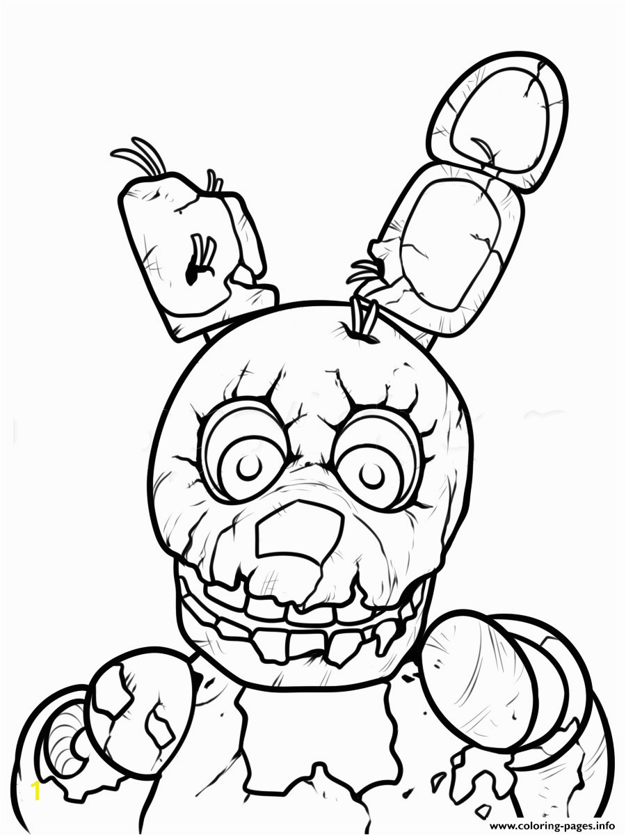 Fnaf Coloring Pages All Characters Best Print Freddy Five Nights at Freddys Printable Coloring Pages