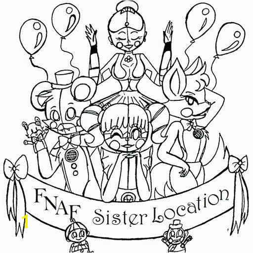 Fnaf Coloring Pages All Characters Beautiful Coloring Pages for Adults Line Cute Me Girl to Print