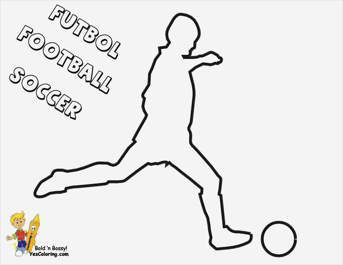 Coloring Football Players soccer Player Coloring Pages