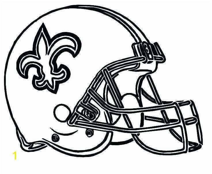 Denver Broncos Coloring Pages Fresh Football Helmet Coloring Page Saints Football Coloring Pages Helmet Denver