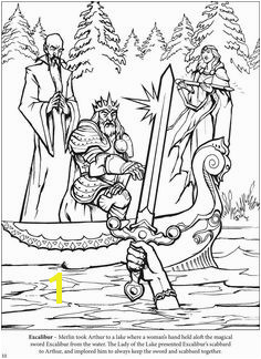 The Adventures of King Arthur Coloring Book Dover Publications Free Printable Coloring Pages Free Coloring