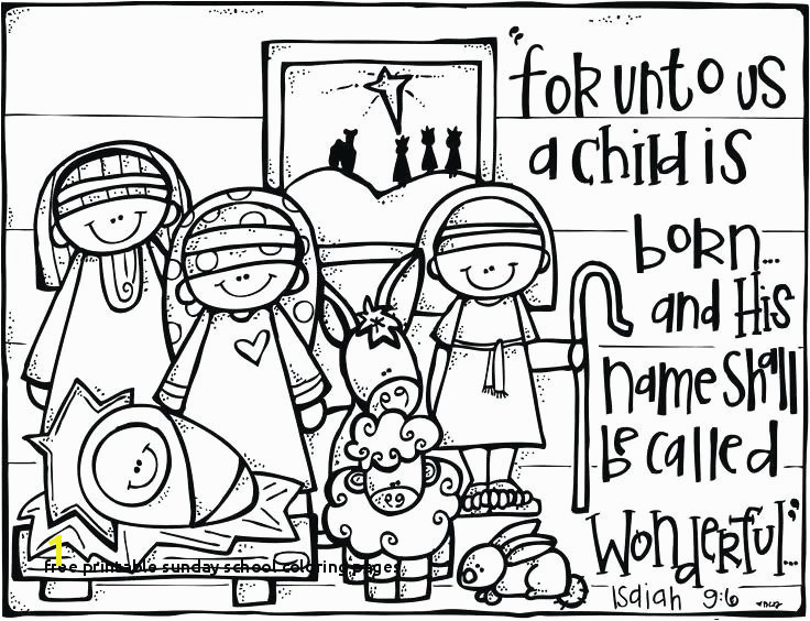 Free Bible Coloring Pages Fresh Free Printable Sunday School Coloring Pages Free Bible Coloring 5