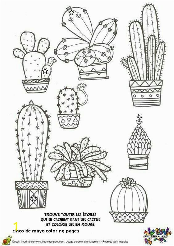 Cinco De Mayo Coloring Pages Cactus Coloring Page From Cactus Coloring Page Fresh 167 Free