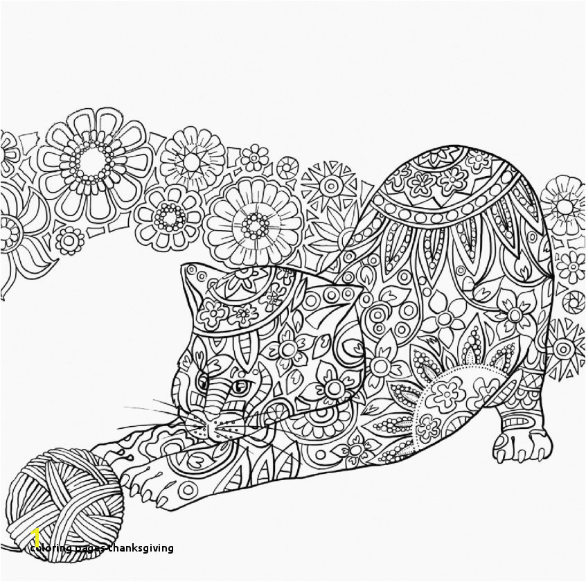 Coloring Pages Thanksgiving Fresh Thanksgiving Coloring Pages Free Printable Unique Cool Od Dog