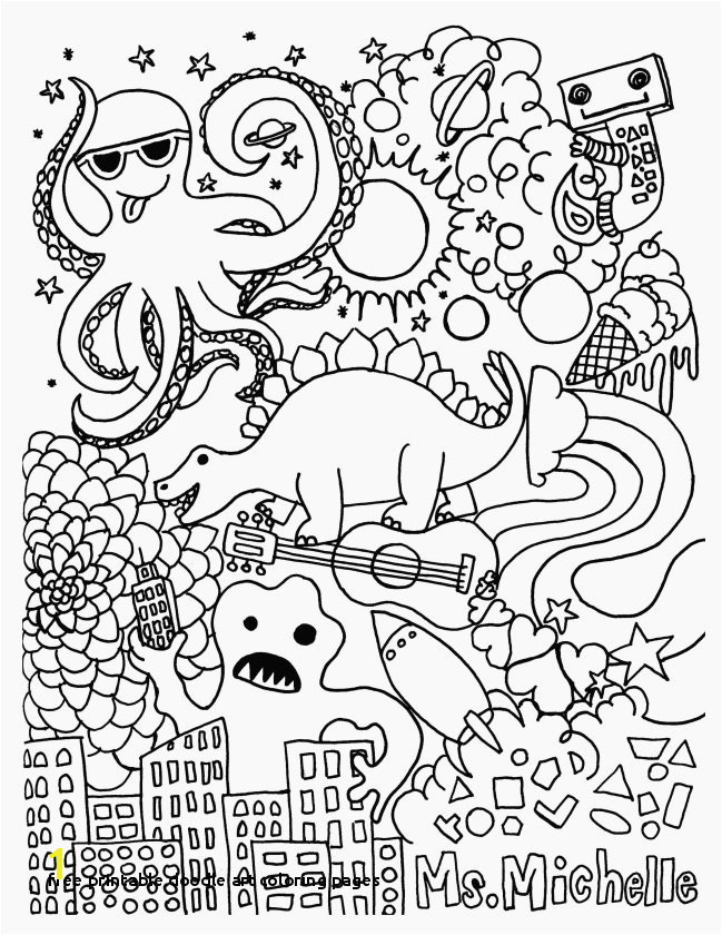 Free Printable Doodle Art Coloring Pages Inspirational New Awesome Od Dog Coloring Pages Free Colouring Pages