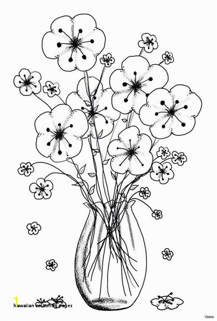 Free Coloring Pages Of Hawaiian Flowers Hawaiian Colouring Pages Hawaii Drawing at Getdrawings Kids Coloring
