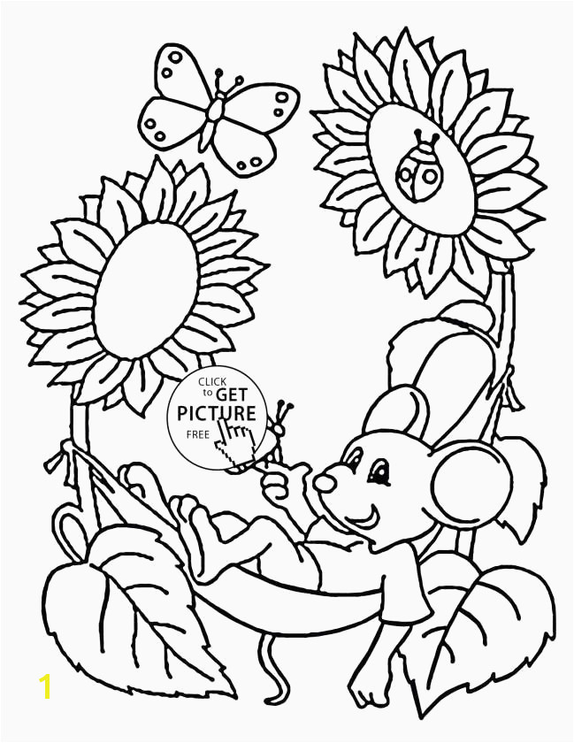 Od Kids Simple Floral Simple Flower Coloring Page Awesome Flower Coloring Pages for Kids Awesome Simple Flower Coloring Pages