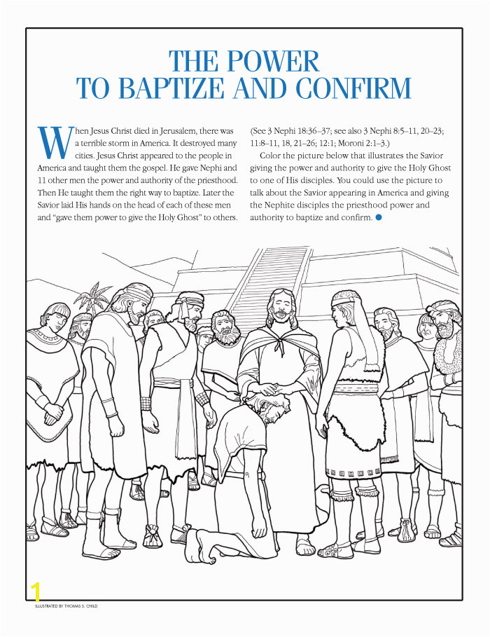 """""""The Power to Baptize and Confirm"""""""
