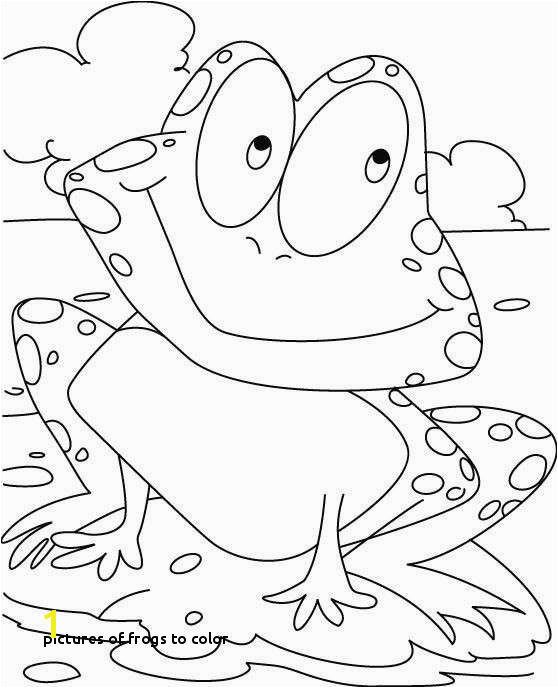 Color Sheets Free Luxury Frog Coloring Pages Fresh Frog Colouring 0d