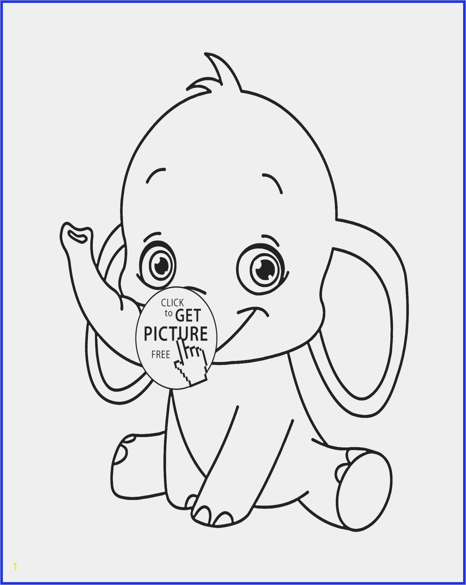 Free Animal Coloring Pages for Kids Cute Baby Animal Coloring Pages Unique Fresh Home Coloring