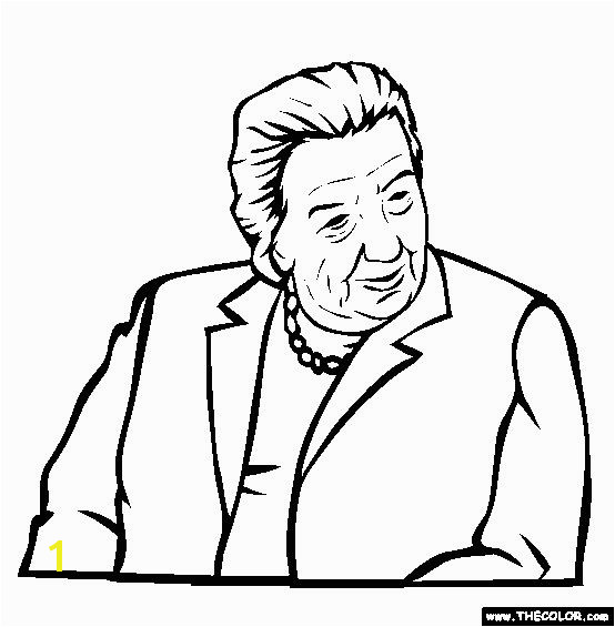 100 free famous people coloring pages color in this picture of golda meir and
