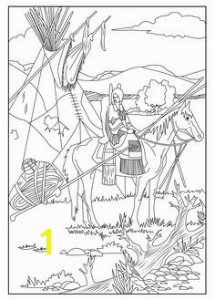Native American Indian Coloring Books and Free Coloring Pages Color Page New Children Colouring 0d