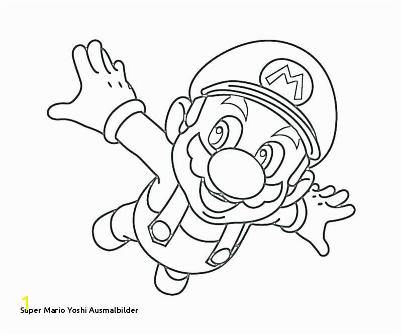 Super Mario Yoshi Ausmalbilder Mario and Luigi Coloring Pages Best Mario Coloring Pages Line O D