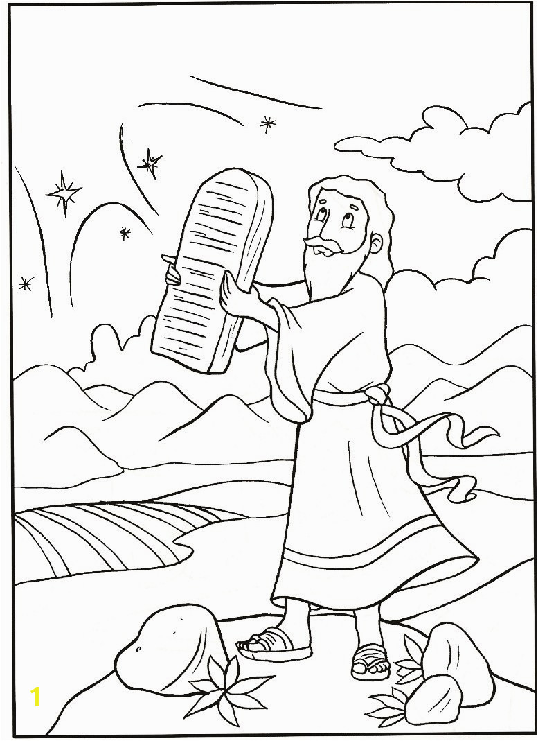 Moses Parting the Sea Coloring Page New Free Printable Moses Coloring Pages Mesin Moses Parting
