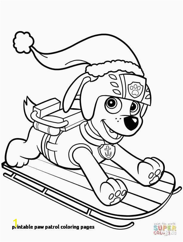 Free Paw Patrol Coloring Pages Elegant Paw Patrol Printables Beautiful Paw Patrol Coloring Pages Printable
