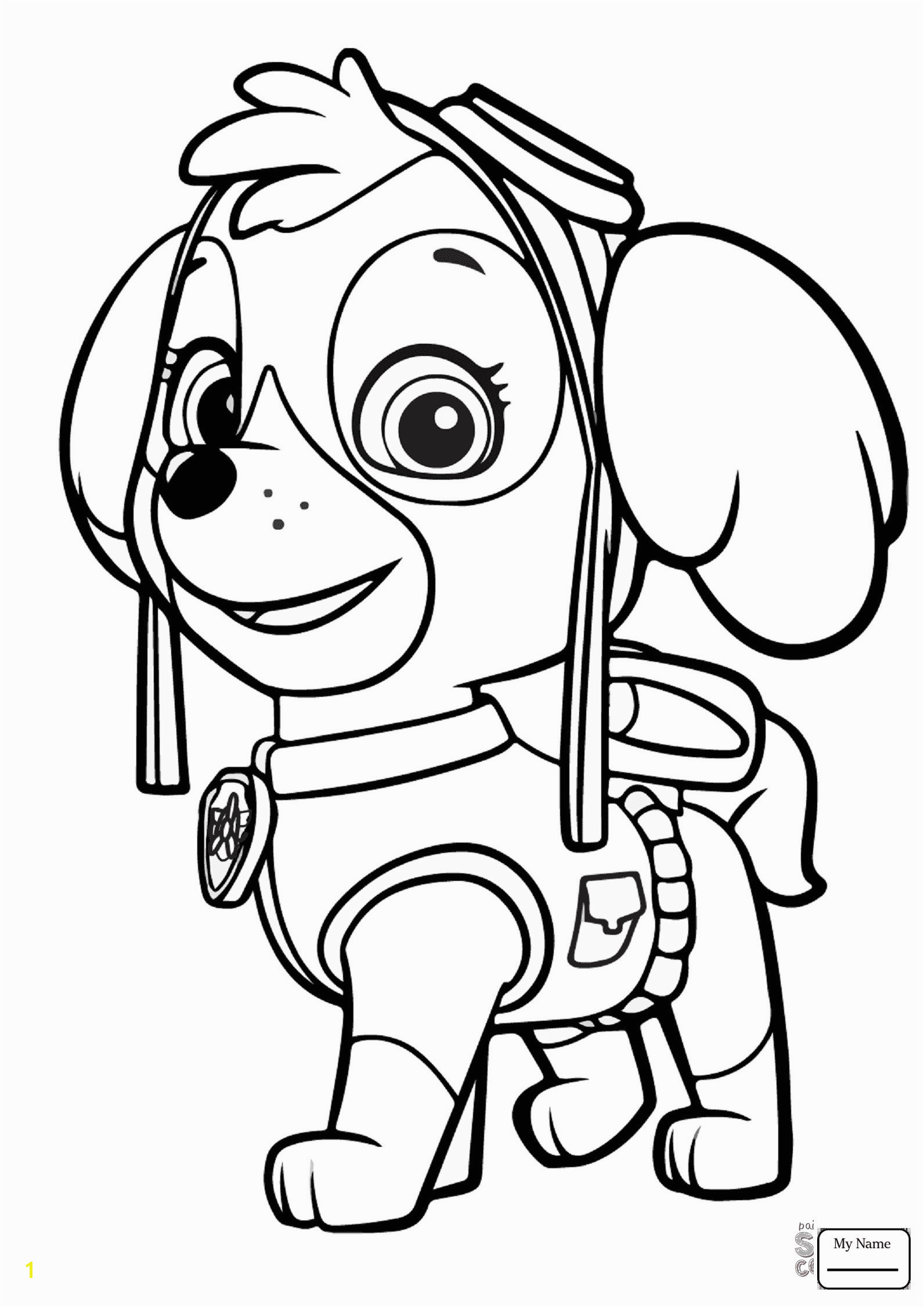 Inspirational Free Paw Patrol Coloring Pages Coloring Pages Einzigartig Paw Patrol Ausmalbilder Rocky