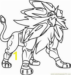 Image result for pokemon sun and moon coloring pages legendaries Moon Coloring Pages Printable Coloring
