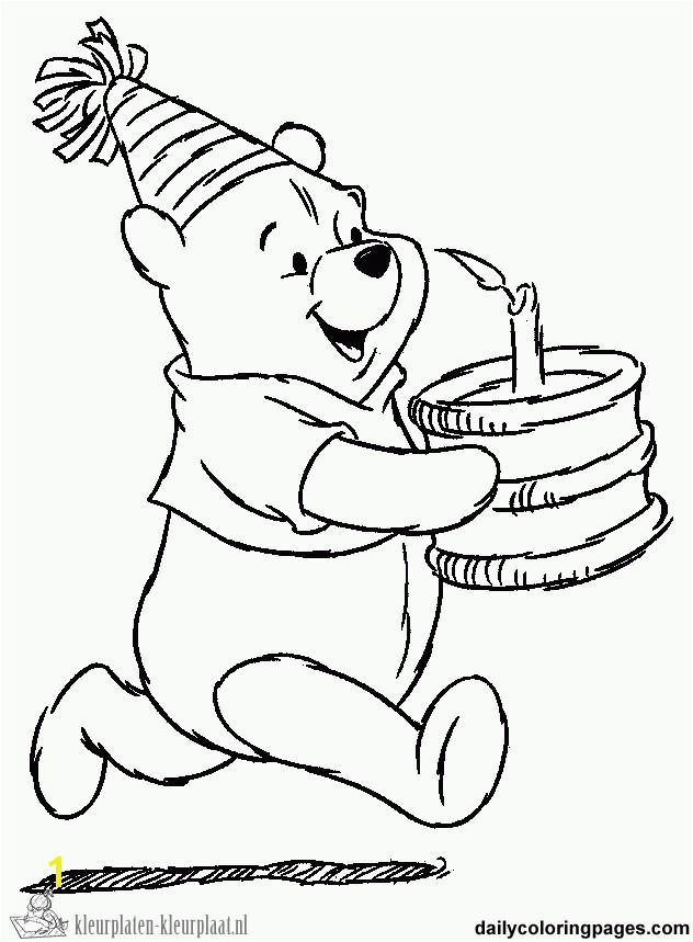 Free Pooh Bear Coloring Pages Kleurplaten Winnie the Pooh Kleurplaten Kleurplaat