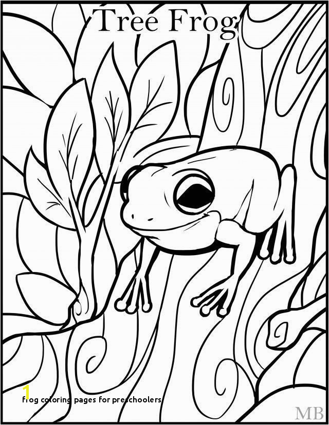 29 Frog Coloring Pages for Preschoolers