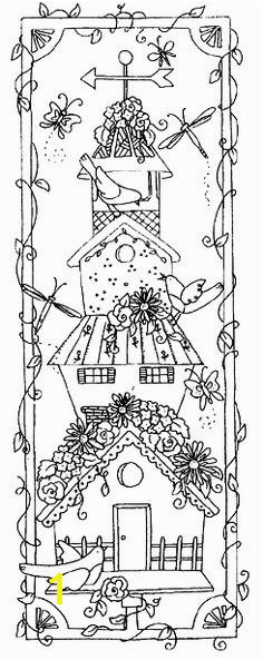 Free Printable Birdhouse Coloring Pages Lovely 135 Best Painted Birdhouse Pinterest In 2018