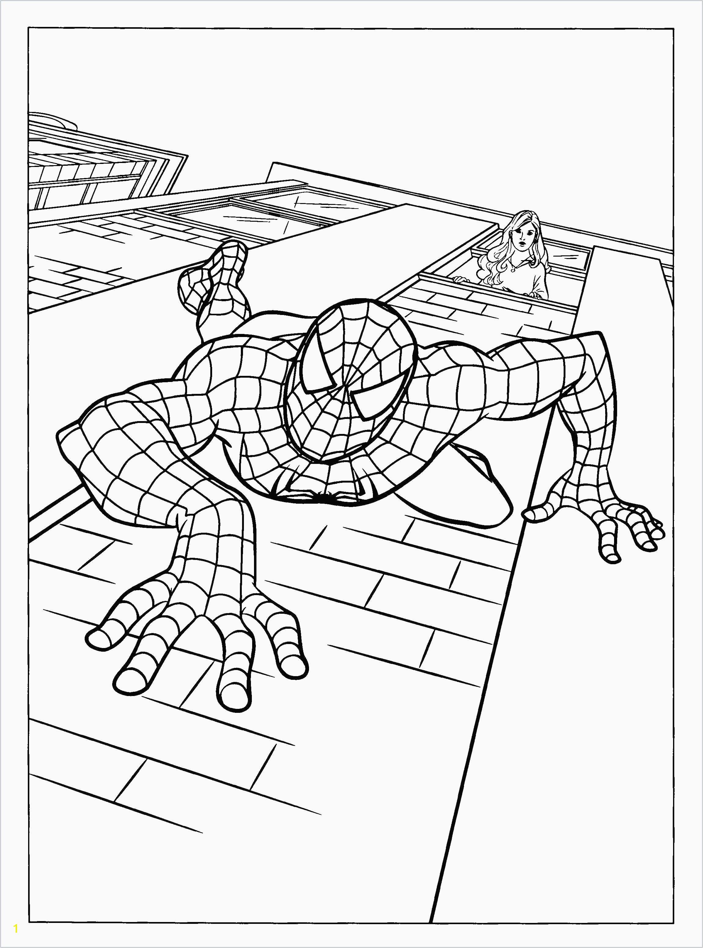 Free Printable Spiderman Coloring Pages Unique Spiderman Coloring Sheets Lovely Ic Coloring Pages Best 0 0d