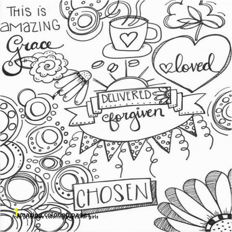 Free Printable Coloring Pages for Girls Kids Coloring Pages for Girls Inspirational Printable Coloring 0d