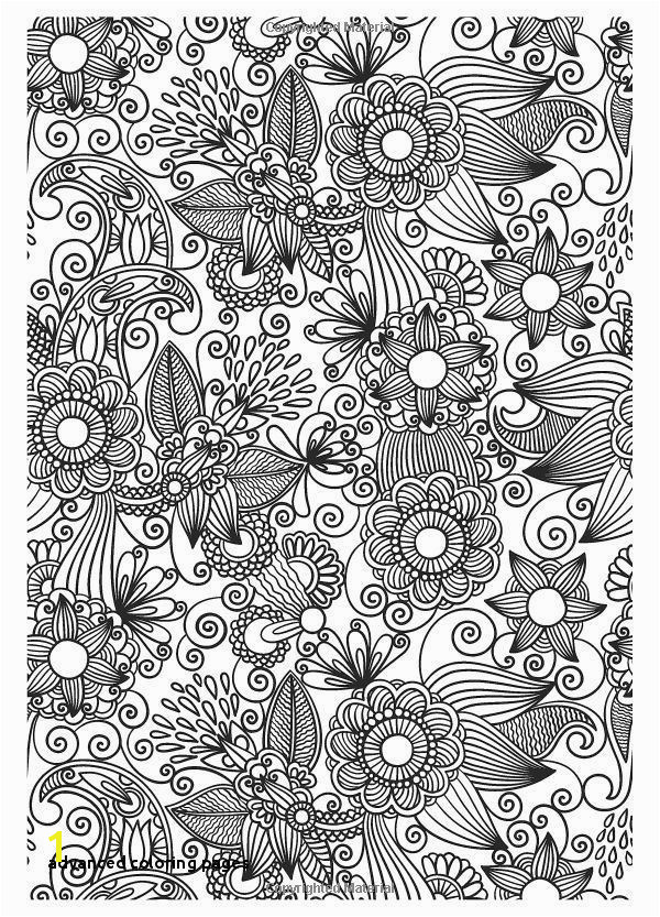 Abstract Coloring Pages for Adults New Advanced Coloring Pages Flower Abstract Doodle Zentangle Coloring Abstract