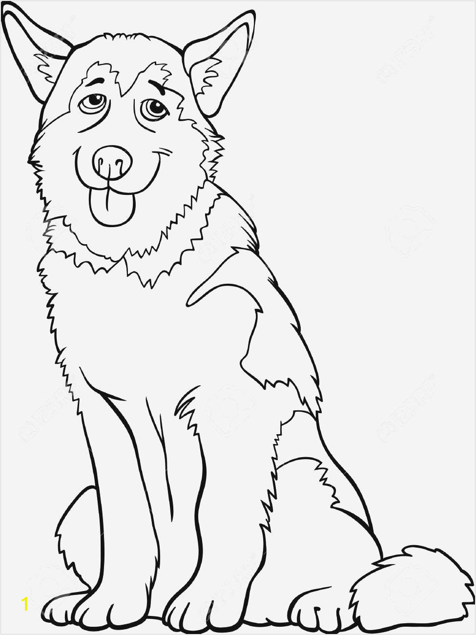 Free Printable Coloring Pages Animals Husky Coloring 0d Free