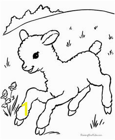 Colouring pages for Easter 007