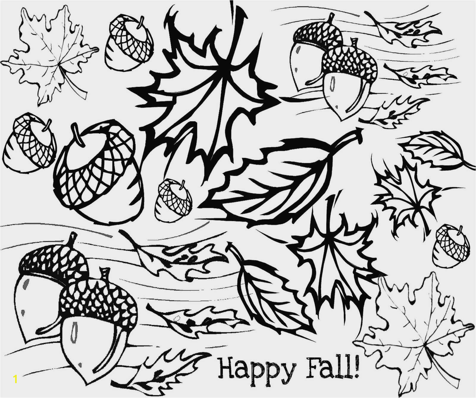 Free Fall Coloring Pages Free Print New Fall Coloring Pages for Adults Free Fall Coloring
