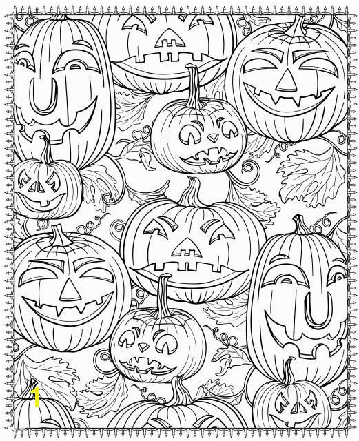 Free Printable Fall Coloring Pages for Adults Free Printable Halloween Coloring Pages for Adults