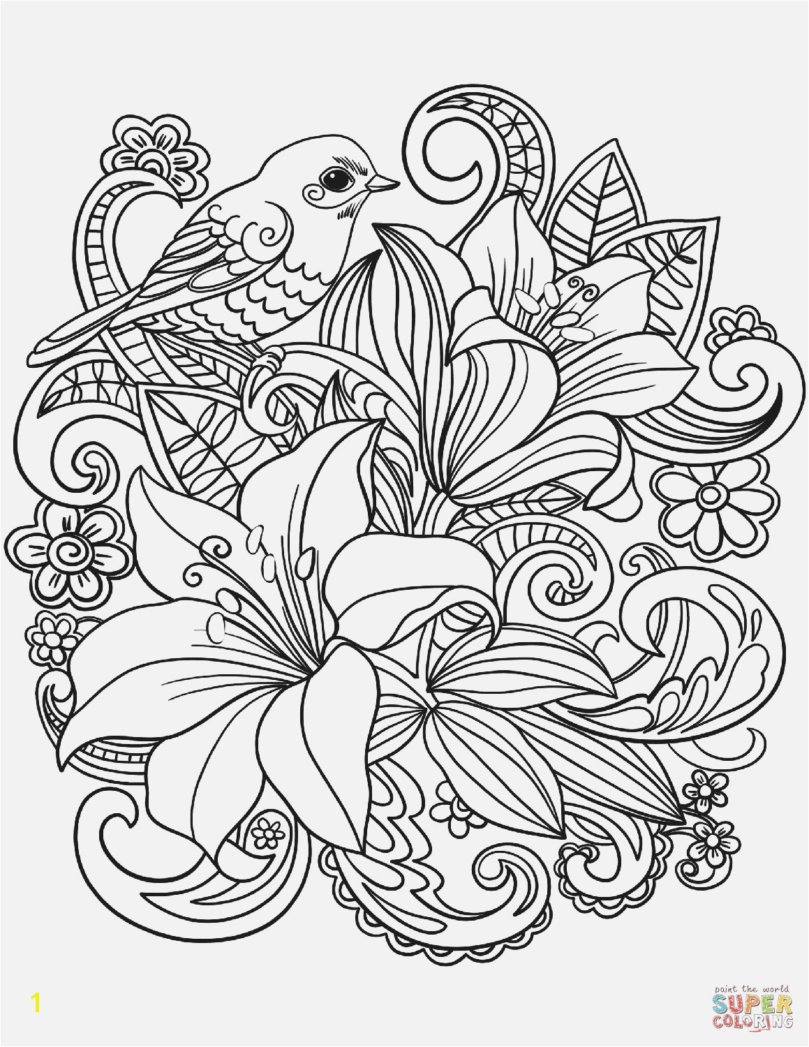 Free Flower Coloring Pages Printable Cool Vases Flower Vase Coloring Page Pages Flowers In A top I 0d