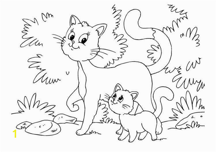 Free Cat Coloring Pages Beautiful Kitten Color Pages Elegant Kitty Cat Coloring Pages Unique Best Od