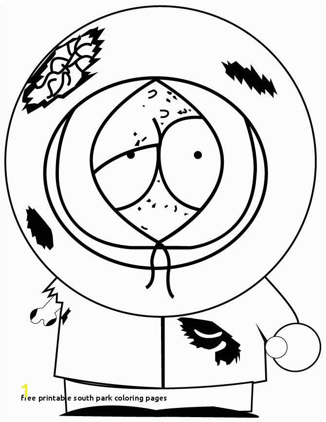 Free Printable south Park Coloring Pages ¨¿‡é‡ Coloring Pages