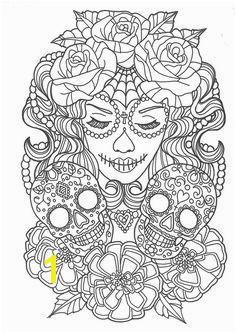 Beautiful sugar skull colouring page Coloring Book Pages Skull Coloring Pages Coloring Pages For