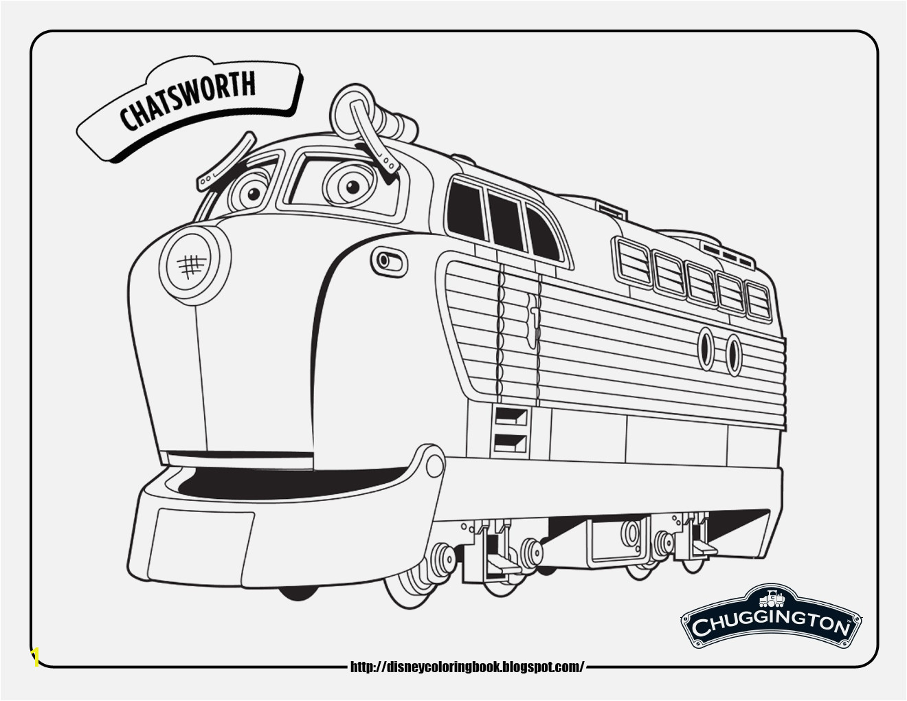 Thomas the Train Coloring Pages Best Easy Printable Chuggington Coloring Pages Free Printabl Pin Od Tracy