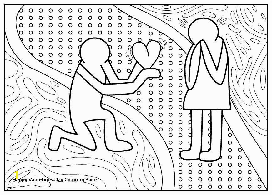 Free Printable Valentines Day Coloring Pages Awesome Happy Valentines Day Coloring Page Free Printable Valentines