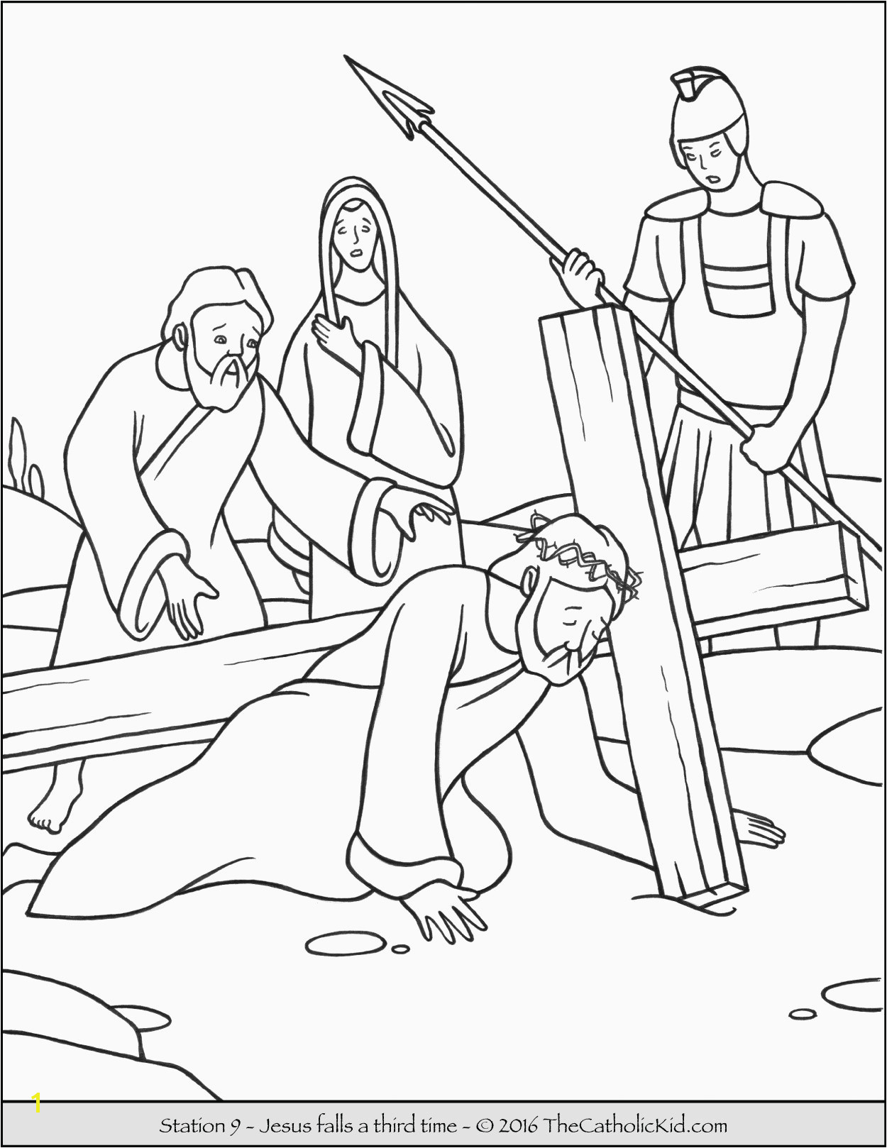 Coloring Pages Jesus As A Boy For Disciples Od Christ Catching At Page Free Printable