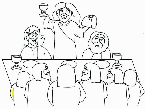 Gravity Falls Coloring Pages Beautiful Last Supper Coloring Page Elegant Cartoon Od Jesus Disciples Gravity