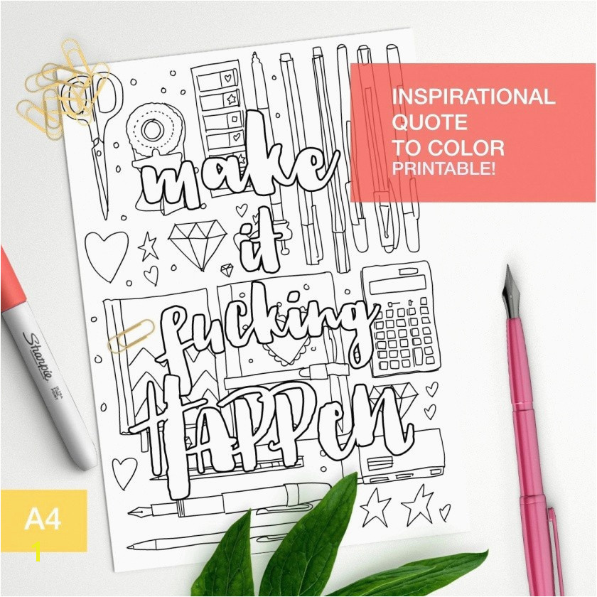Free Printable Quote Coloring Pages for Adults Inspirational 50 Best Free Printable Quote Coloring Pages for