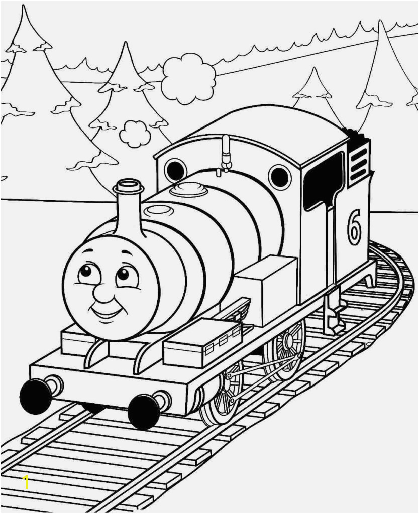 Thomas the Train Coloring Pages Best Easy Thomas the Train Color Page