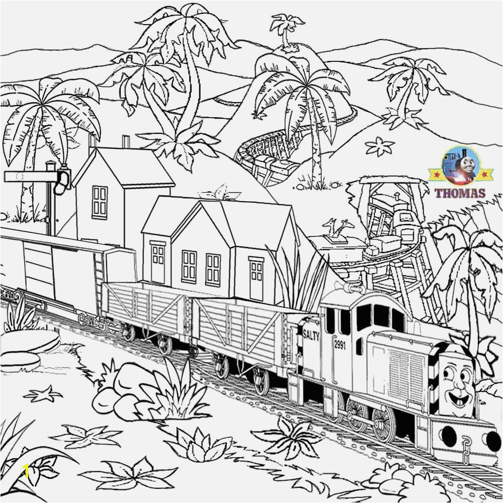 Free Thomas the Train Coloring Pages Thomas the Train Coloring Pages Printable Coloring Pages Thomas the