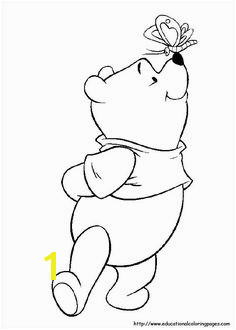 Winnie the Pooh coloring page Free Coloring Coloring Pages For Kids Kids Coloring Sheets