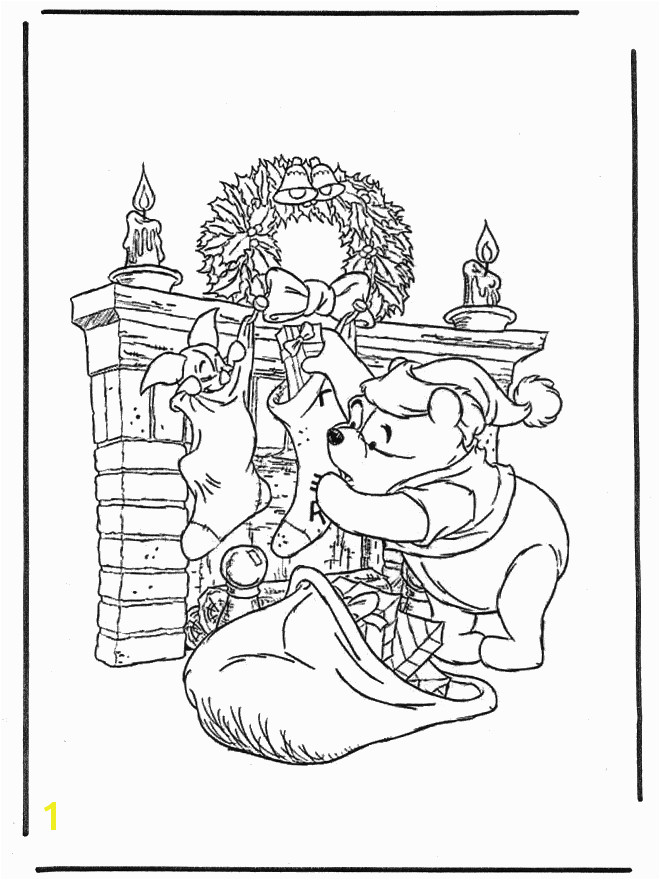 Free Winnie the Pooh Coloring Pages to Print Christmas Coloring Pages for Adults