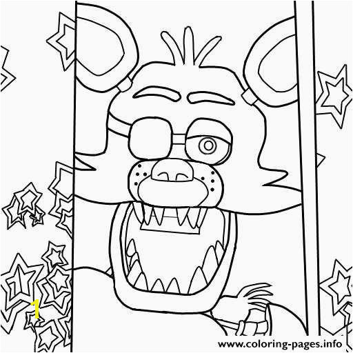 Foxy Coloring Pages Awesome Fnaf Coloring Pages Beautiful Elegant Five Nights at Freddy S Foxy