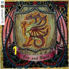 Game Of Thrones Coloring Book Finished Pages 149 Best Game Of Thrones Coloring Book Images On Pinterest